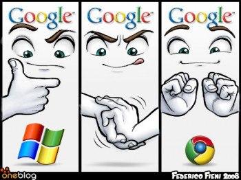 Chrome Ala Microsoft
