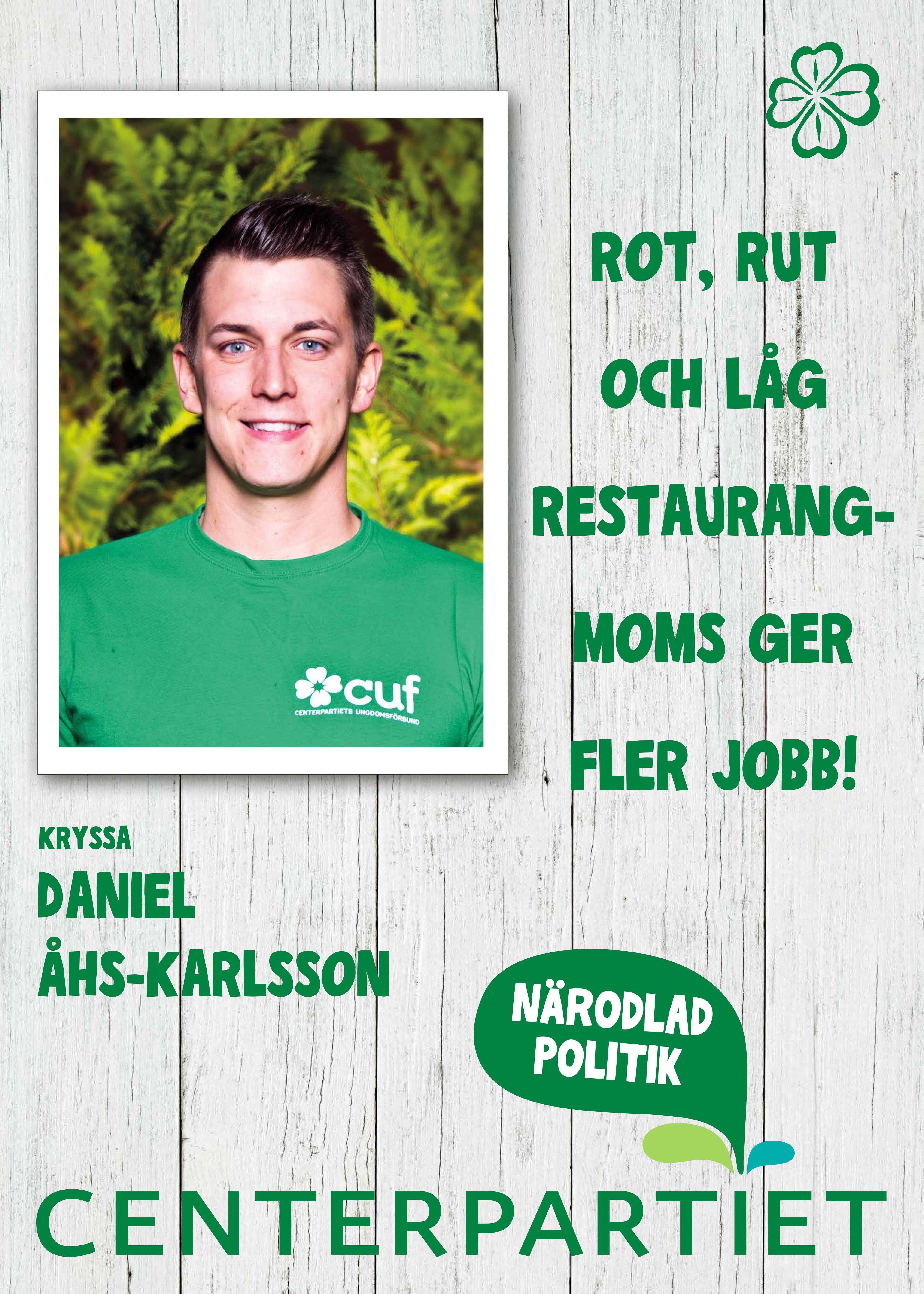 Affisch Daniel Åhs Karlsson