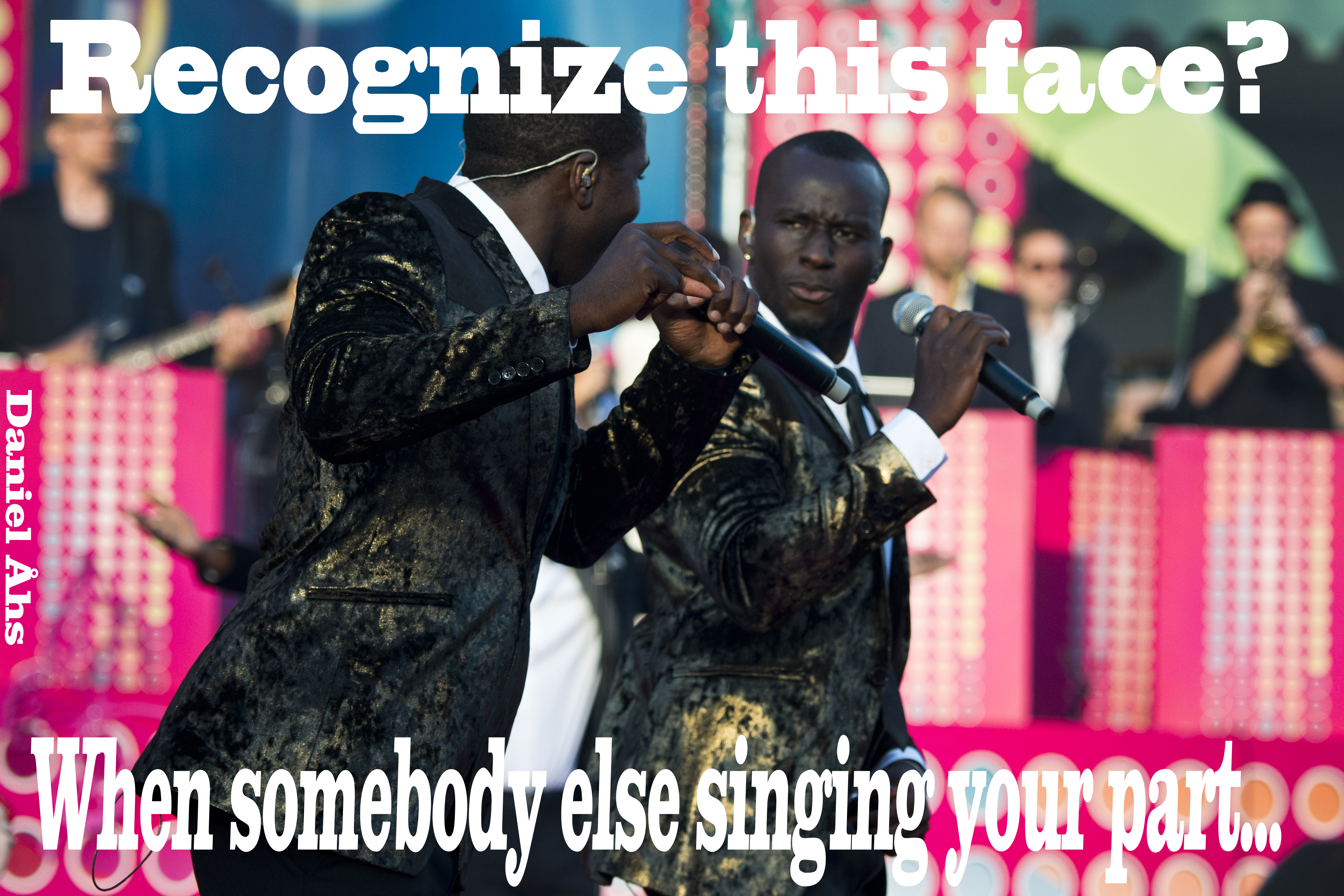Panetoz. When Somebody Else Singing Your Part
